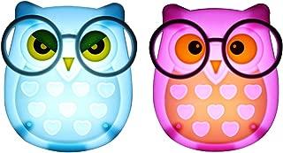 owl plug in night light