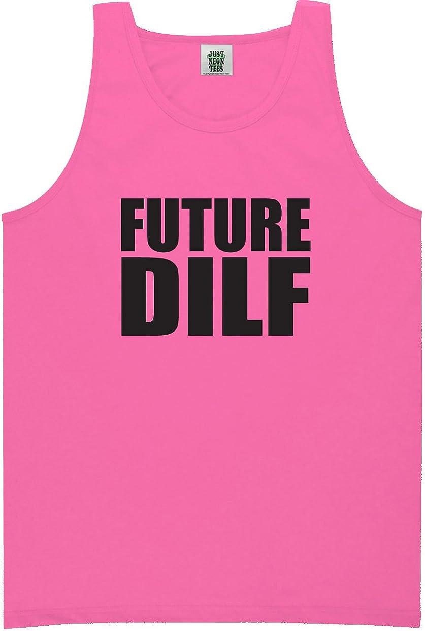 zerogravitee Future DILF Bright Neon Tank Top