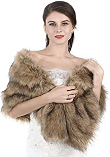 mink fur shoulder wrap