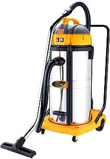 TY-Vacuum Cleaner MMM@ Aspirador seco y húmedo Aspirador de Barril Grande Industrial de Alta Potencia 2800W Taller Comercial de fábrica de Lavado de Autos Taller 70L Motor Dual de Gran Capacidad