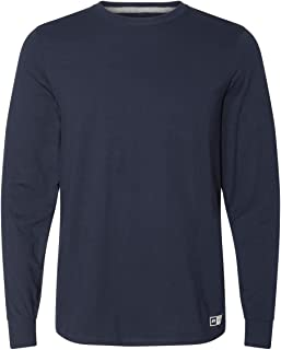 Russell Athletic Mens Cotton Performance Long Sleeve T-Shirts