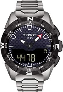 Mens T-Touch Expert Solar II Mens Watch Titanium T1104204405100