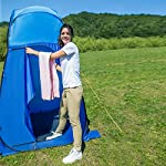 KingCamp Unisex's Portable Pop Up Privacy Shelter Dressing Changing Privy Tent Cabana Screen Room w Weight Camping… 5