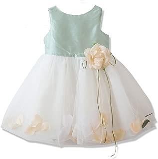 Catherine Cottage 結婚式 お宮参り 出産祝い 花びら揺れるロマンティック ベビー ドレス PC734YB