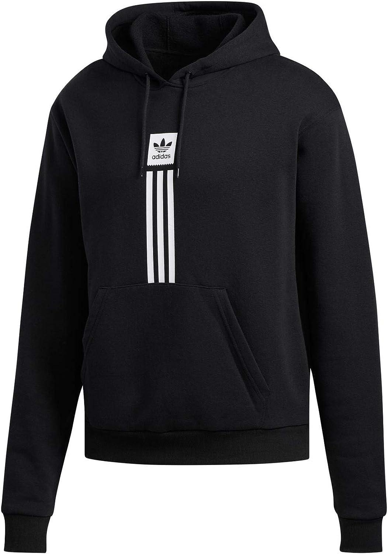 Adidas Solid Pillar Hoodie - schwarz Weiß