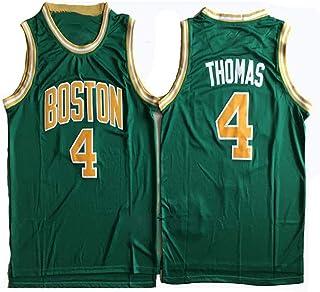 Men's Basketball Jerseys Celtics #4 Isaiah Embroidery Basketball Jersey Cool Breathable Fabric Unisex Basketball Sleeveles...