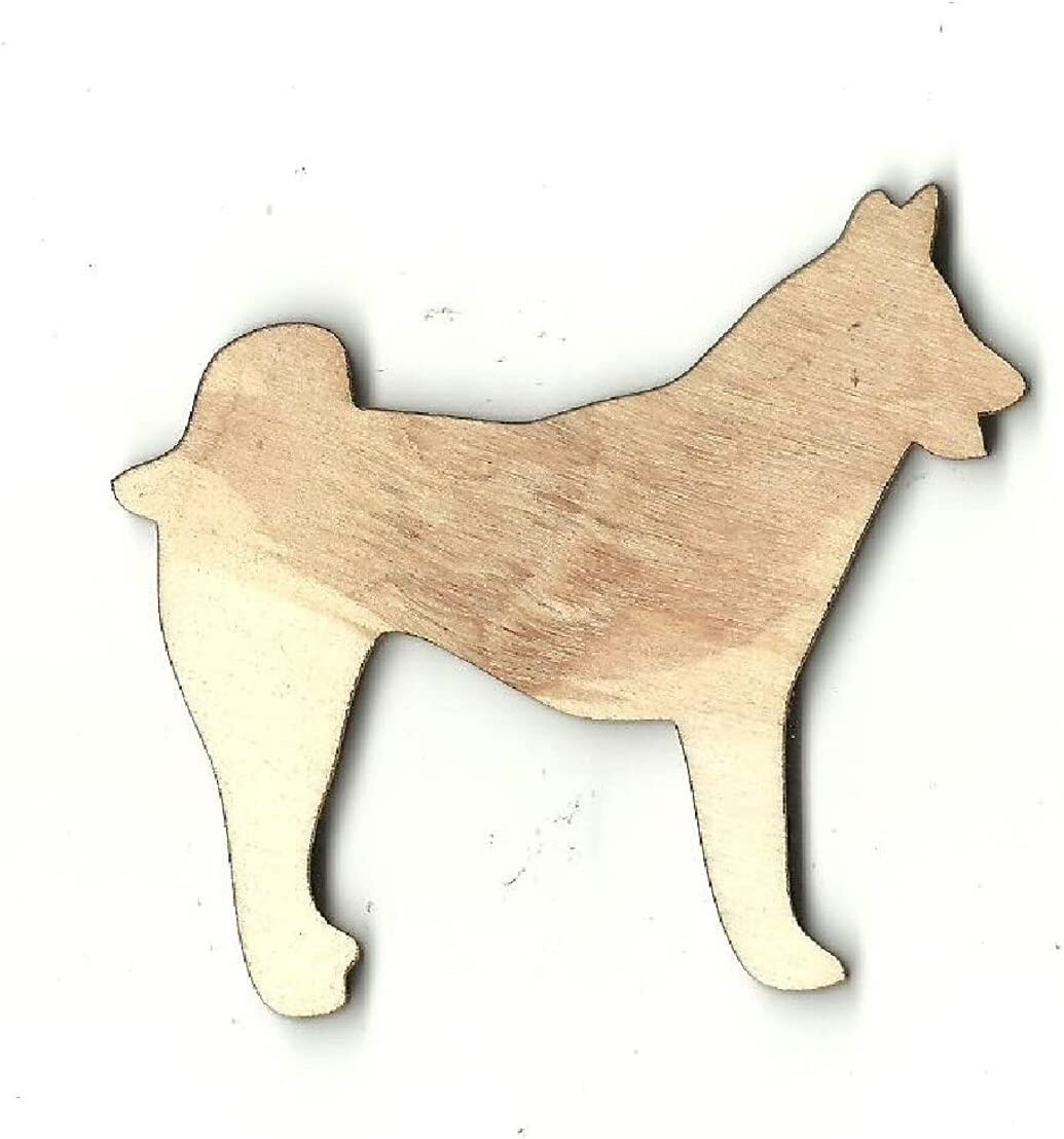 Add a Hole Dog - Laser Cut Wood security Craft Out Shape Industry No. 1 Suppl Unfinished