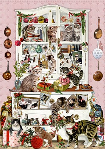 Coppenrath F Wand-Adventskalender - Katzen im Advent