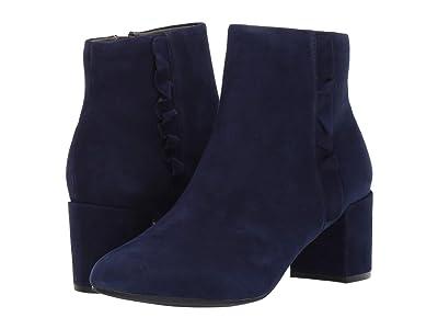 Rockport Total Motion Oaklee Ruffle Boot (Blue) Women