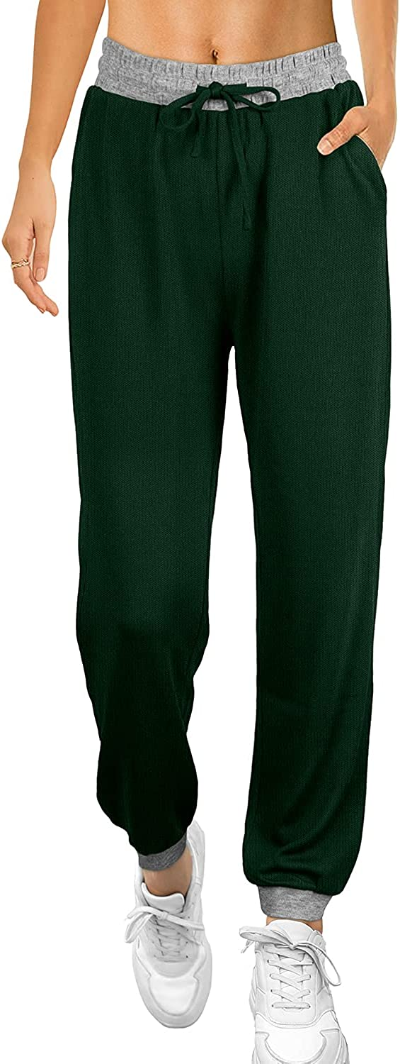Bofell Sweatpants for Women with Many Dealing full price reduction popular brands Drawstring Pockets Elastic Wais