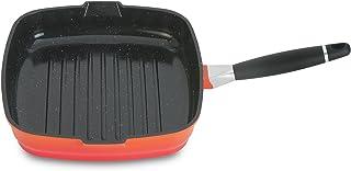 "BergHOFF Virgo Grill Pan, 11"", Orange"