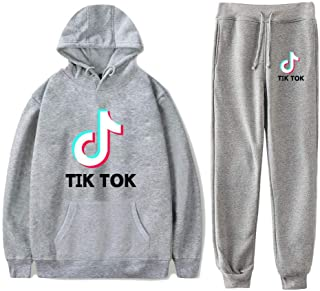 OHYOUNG TIK Tok Tracksuit Two Piece Unisex Hoodie and Pants C00605WYKZ