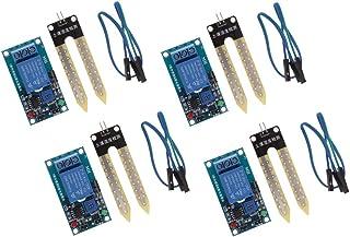 kowaku 4PCS/12V Soil Hygrometer Moisture Detection Module Sensor,Automatic Watering