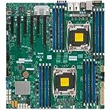 Supermicro X10DRi-T Server Motherboard - Intel C612 Chipset - Socket R3 (LGA2011-3) - 1 x Bulk Pack MBD-X10DRI-T-B