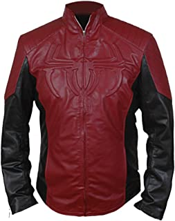 F&H Men's Amazing Spiderman Jacket