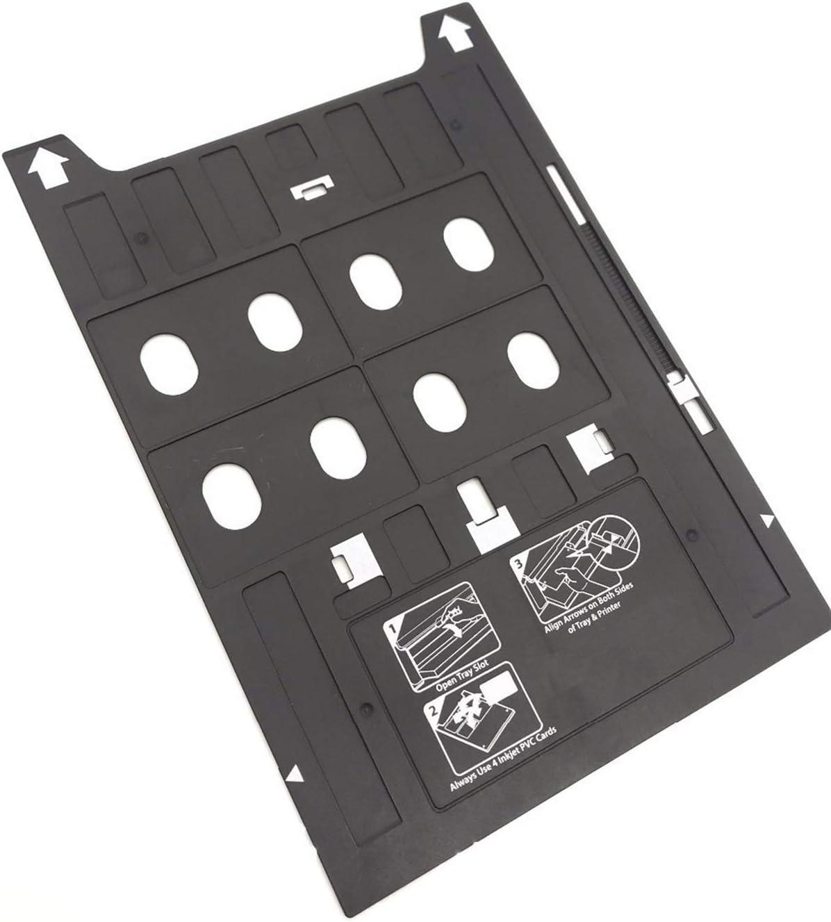 New Printer Accessories 1PC X Plastic Inkjet PVC ID Card Printing Tray Compatible with Epson 1400 1410 1430 1430W 1500W R800 R1800 R1900 R2000 R2880 R3000 P400 P600