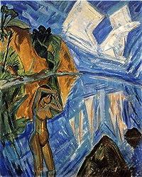 エーリッヒ・ヘッケル「ガラスの日」1913年