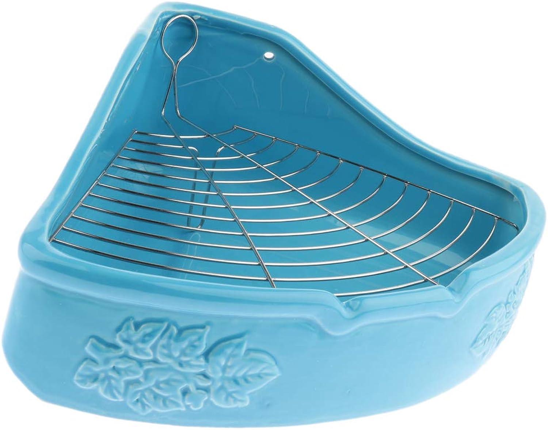 Baosity Ceramic Pet Antimite AntiPush Ceramic Toilet Dog Urinal Bowl Toilet  bluee