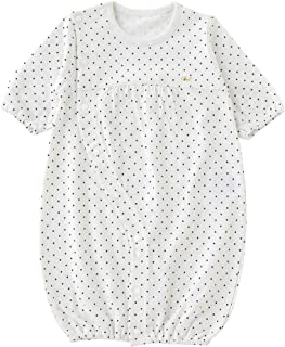 (チャックルベビー) chuckle BABY ボンシュシュ 長袖ツーウェイオール 50-60cm ホワイト P5563-00-10