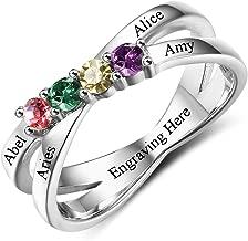 grandma ring with birthstones