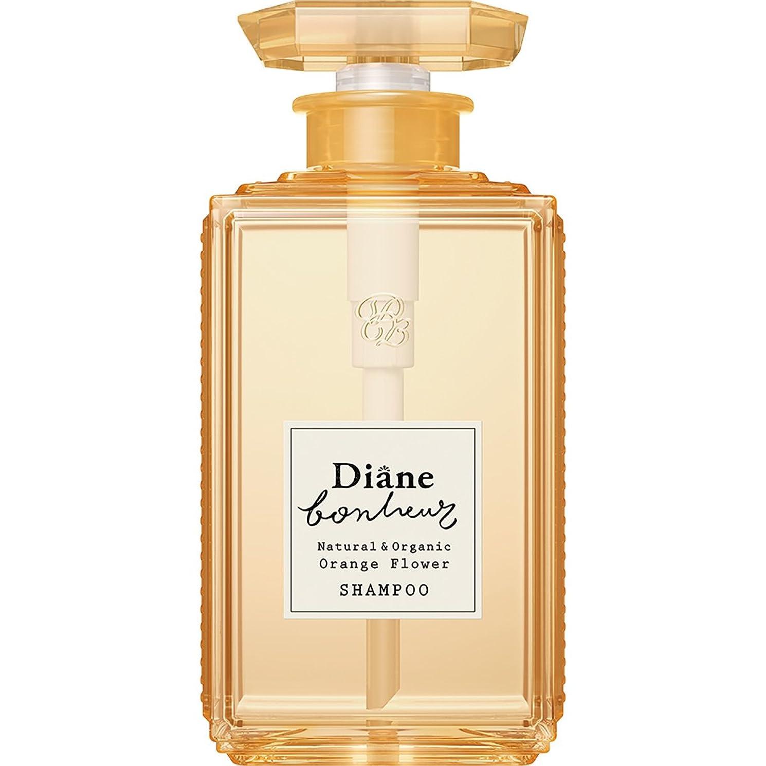 空白見積りミントダイアン ボヌール オレンジフラワーの香り モイストリラックス シャンプー 500ml