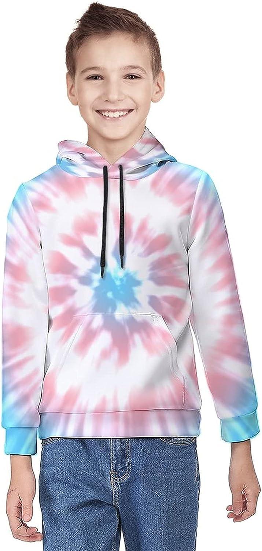 Kimisoy Teens Pullover Hoodie Transgender Color Lightweight Sweatshirt Windbreaker Hooded Shirts