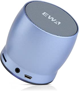 EWA Mini Bluetooth Speakers A150 Portable Speaker with HD Sound and Bass (Blue)