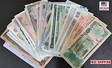 Nice1159 Uncirculated Lot of 5 Different Foreign Paper Money BANKNOTES World Currency- Rare for Collectors (Only 5 Sets Left)
