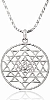 shree yantra pendant
