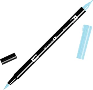 Tombow Dual Brush Pen Art Marker, 451 - Sky Blue, 1-Pack