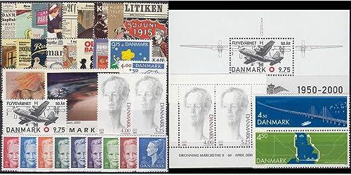 Goldhahn D mark 2000 postfrisch Nr. 1233-1266 Block 14-15 Briefürken für Sammler