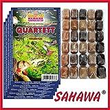 SAHAWA Frostfutter 5X 100g Blister Quartett + 1 Blister Daphnien gratis, verpackt mit Trockeneis -78°C, Aquarium, Aquaristik, Fischfutter, Frostfutter