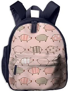 Pinta Pig Cub Cool School Book Bag Backpacks for Girl's Boy's