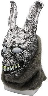 Cafele Donnie Darko Frank The Creepy Bunny Mask Scary Mask Black