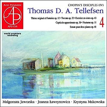 Thomas Tellefsen: Complete Piano Works 4