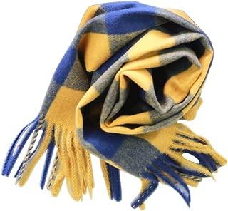 Gli Uomini a Quadretti Sciarpa Caldo Inverno Sciarpe Unisex COPERTA Scialli Sciarpe Pure Cashmere