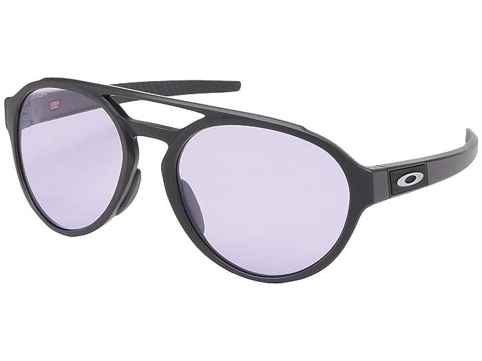Oakley Forager (Matte Carbon w/ PRIZM Low Light) Fashion Sunglasses