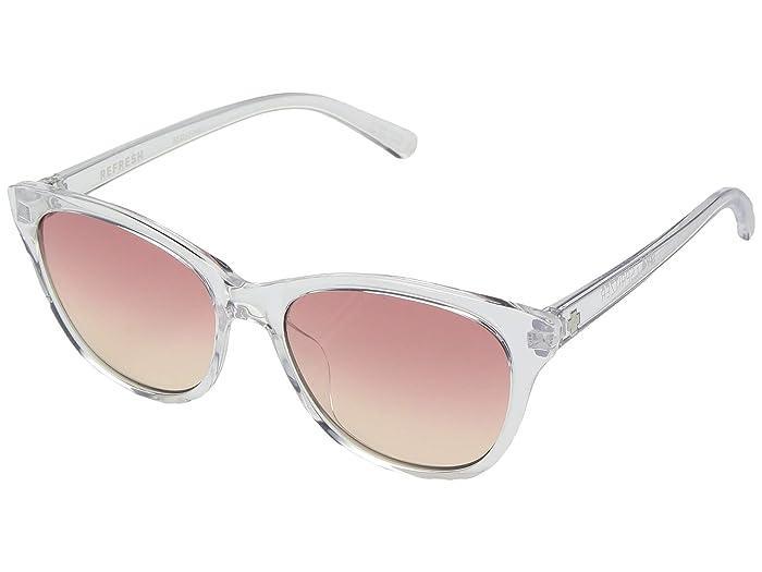 Spy Optic Spritzer (Clear/Pink Sunset Fade) Sport Sunglasses