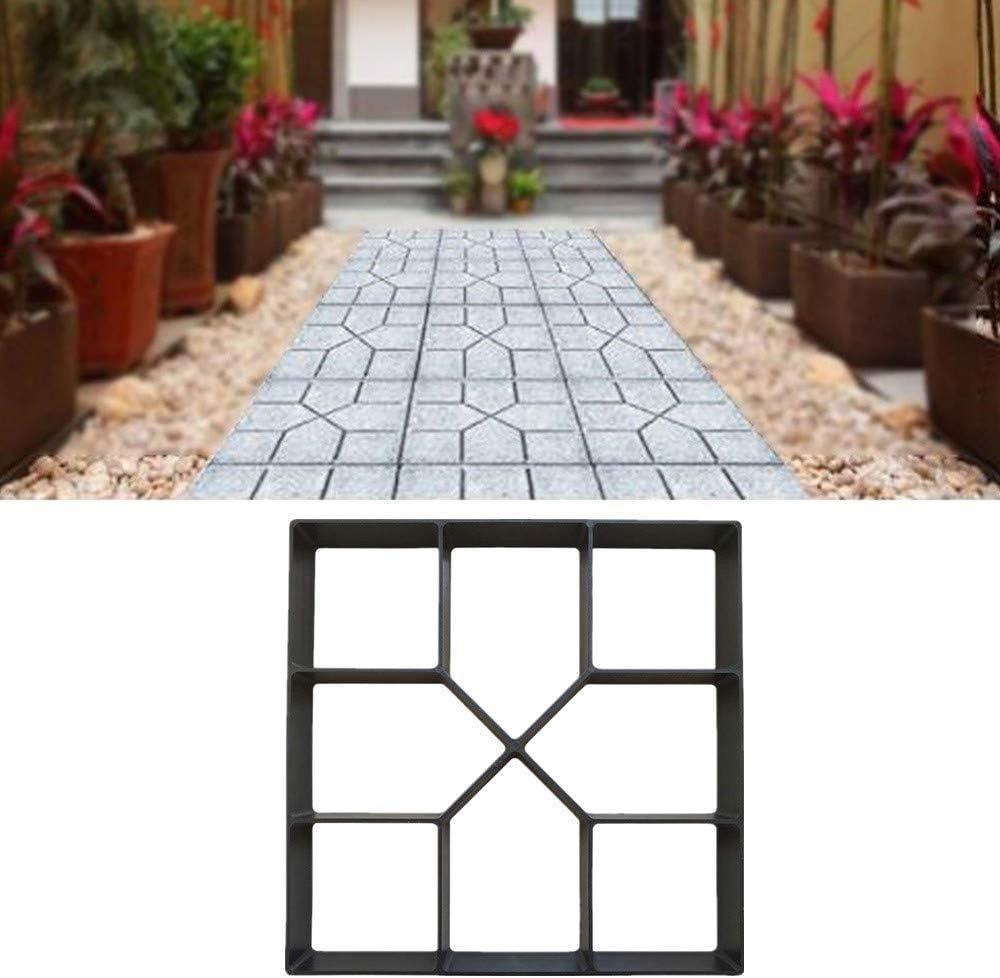 DIY Path Maker Reusable Mould Concrete Cement Stone Garden Walk Paving Paver