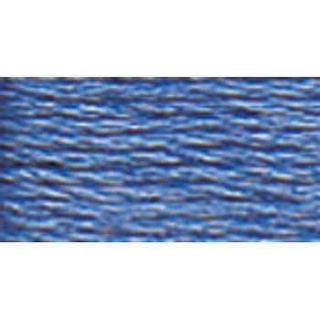 DMC 117-3845 Mouline Stranded Cotton Six Strand Embroidery Floss Thread 8.7-Yard Medium Bright Turquoise