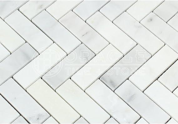 "1//4/""x1/"" Weaving Marble Mosaic Tile Polished. $14.50 per Sheet"