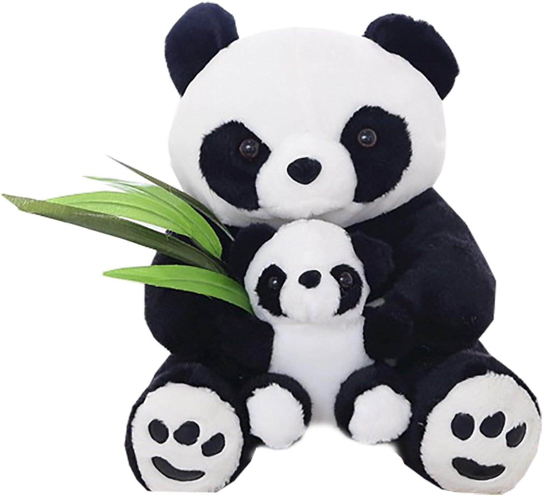 Funif Soft Panda Plush Toy Stuffed Animal Pillow Pet Gift Cushion for Sofa Decoration 15.7