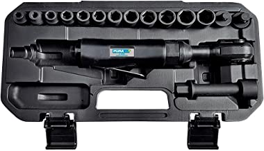 Kit Chave Catraca Sistema Soquetes 8 a 19mm 11Kgfm 180rpm