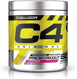 Cellucor International Version C4 オリジナルプレワークアウトパウダー ウォーターメロン 60杯分 [海外直送品]