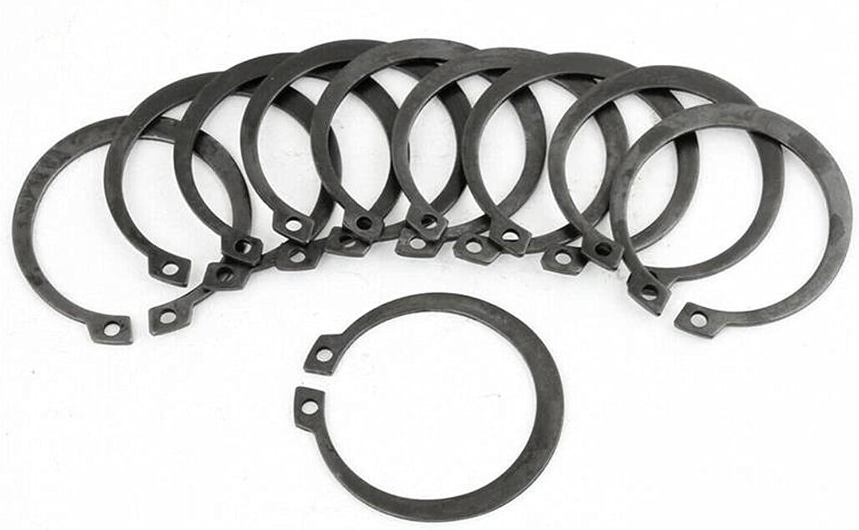 ZHANGM gift 35mm x 42mm Metal Snap Circlip Rings External Quality inspection Retaining