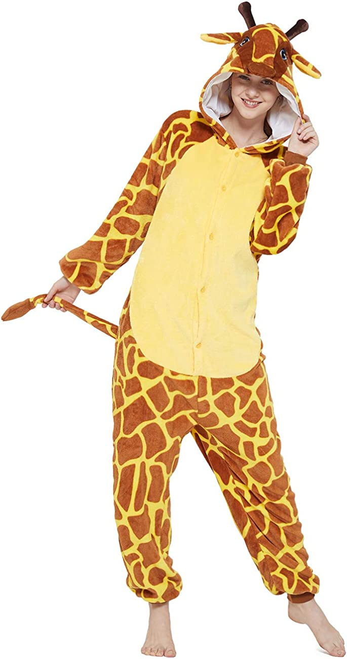 ANBOTA Adult Ranking TOP8 Giraffe Onesies Plush 2021 model Women Animal Cosplay Costume