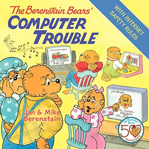 The Berenstain Bears' Computer Trouble (English Edition)
