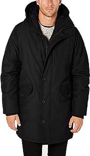 Mens Coat Modern Fit Anorak Hooded