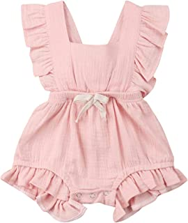 a85bb9e71 Amazon.com  12-18 mo. - Rompers   Footies   Rompers  Clothing