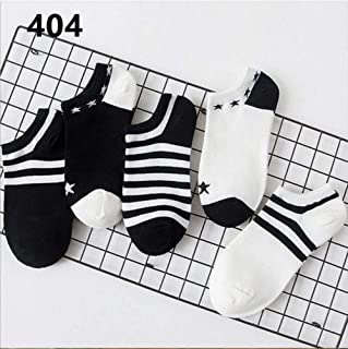 New Arrivl Women Socks funny Fruits Cute Happy Art Silicone Slip Invisible Sock 35-40 5Pairs